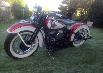 1945 Harley Davidson WLC – just restored