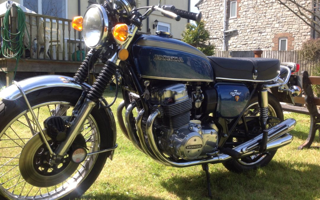 Honda 750 Tour